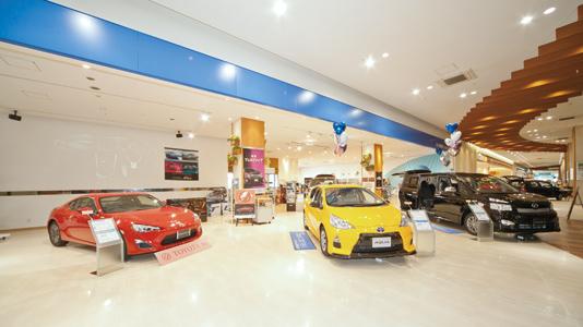 ネッツトヨタ東埼玉 イオンレイクタウン店 | ディーラーへ ...