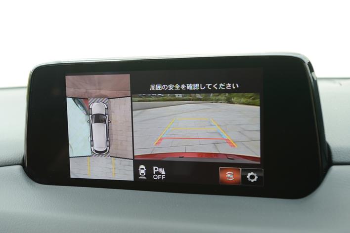 マツダ 新型CX-8(マツダコネクト)