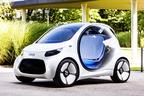 スマート、未来のカーシェアリング向け自動運転コンセプトEV「スマートEQフォーツー」を発表【フランクフルトショー2017】