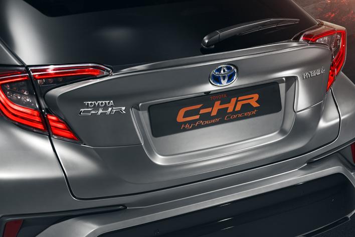 トヨタ C-HR Hy-Power CONCEPT