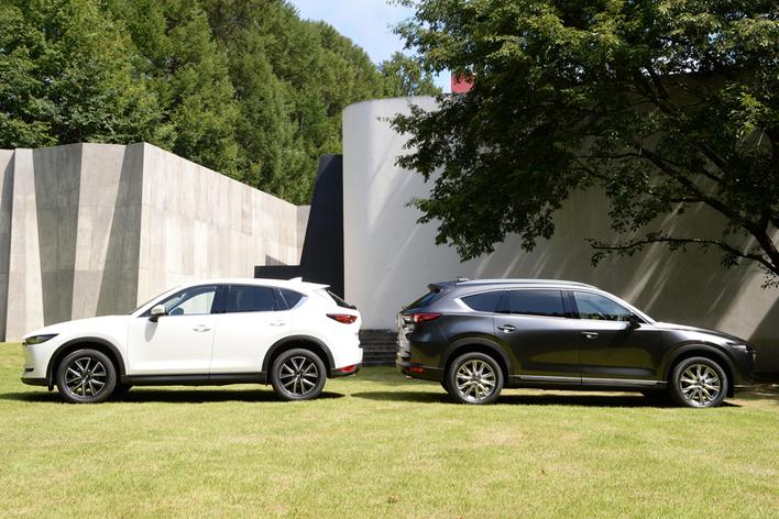 左:CX-5/右:CX-8