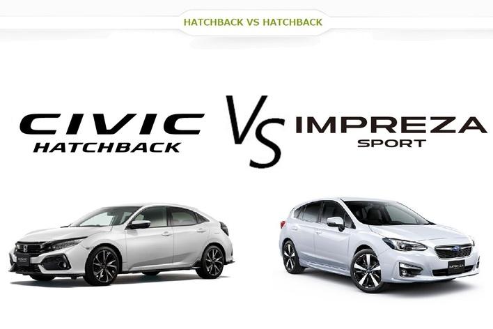 スバル インプレッサスポーツ vs. ホンダ 新型シビックどっちが買い!?|人気の国産ハッチバックを徹底比較。セダンもあるよ!?