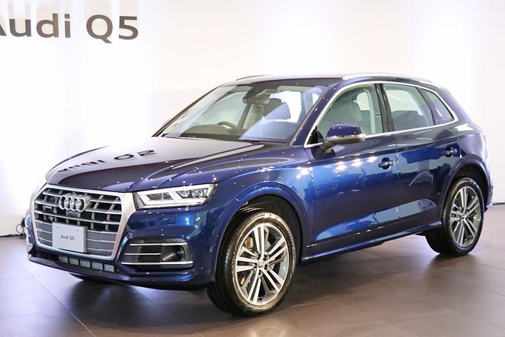 THE new Audi Q5 記者発表会
