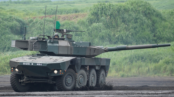 16式機動戦闘車01
