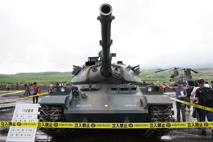 74式戦車02