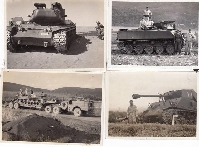 1960年前後の戦車、走行車の開発風景(ST1他)