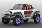 新型ジムニーを示唆! e-SURVIVOR(イー・サバイバー)は本格クロカン四駆の将来像【東京モーターショー2017】