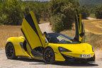 マクラーレン、570Sスパイダーをアジア初公開…570馬力で最高時速328キロ
