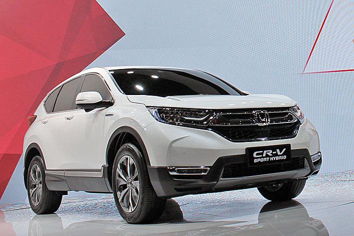 東風ホンダ CR-V上海モーターショー