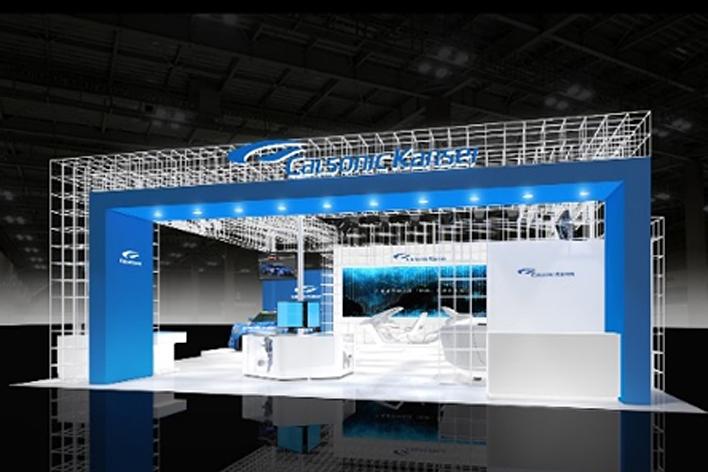 カルソニックカンセイ東京モーターショー2017ブース