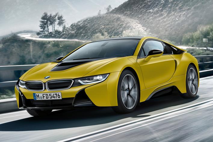 BMW i8 プロトニック・フローズン・イエロー