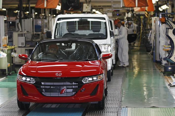 S660などを生産する八千代工業