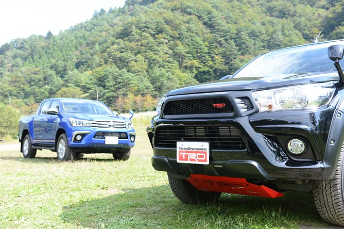 トヨタ 新型ハイラックス/新型ハイラックス TRD PACKAGE