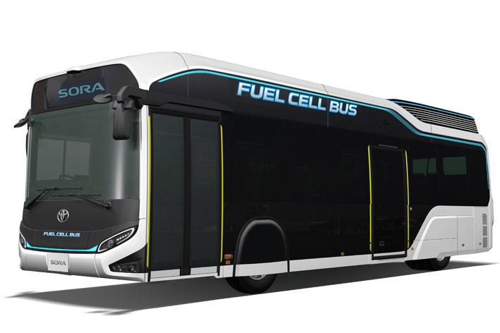 トヨタ バスコンセプトモデル「SORA」