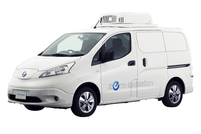 日産 e-NV200 電池冷凍車 コンセプト