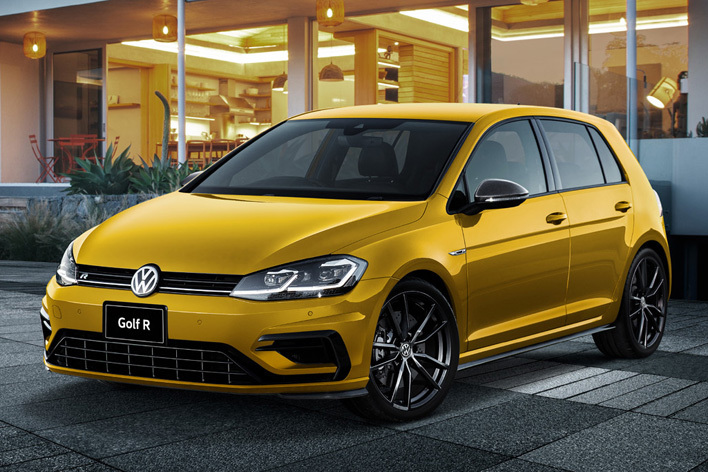 VW ゴルフR パフォーマンス