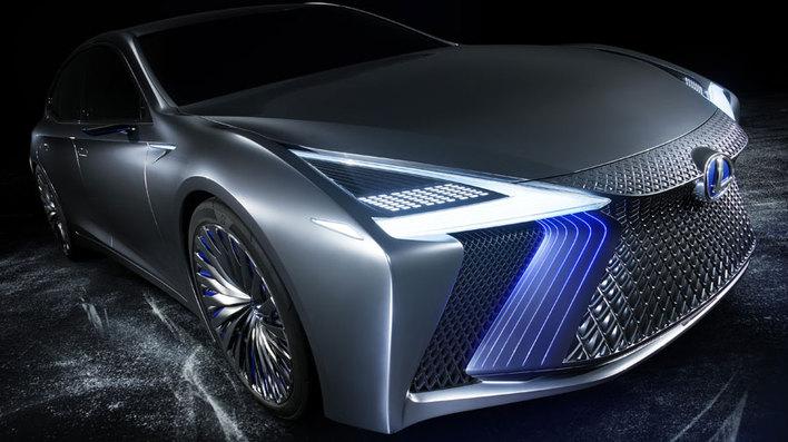 レクサス、謎のコンセプトカーが明らかに!「LS+ Concept」を世界初公開!【東京モーターショー2017】