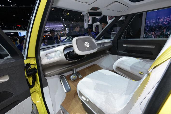 VW EVコンセプトカー I.D BUZZ