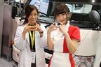 日野ブースにレースクイーン大賞グランプリの日野礼香ちゃんが降臨!【東京モーターショー2017】