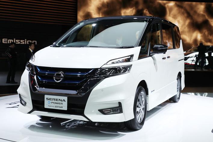 日産 新型セレナ e-POWER HighwaySTAR[ハイブリッドモデル/参考出品・2018年春発売予定]