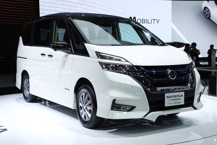 日産 新型セレナ e-POWER HighwaySTAR[ハイブリッドモデル/参考出品・2018年春発売予定] エクステリア