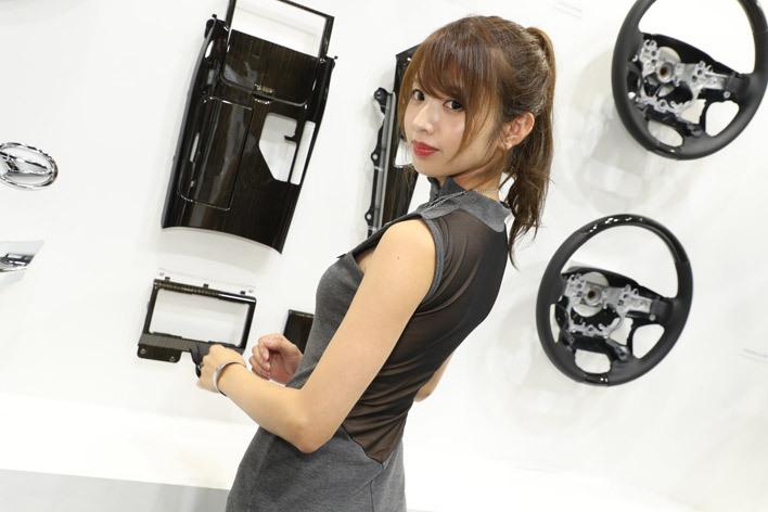 東京モーターショー2017 コンパニオン 東海理化ブース