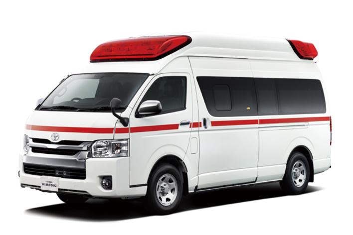 トヨタ高規格救急車「ハイメディック」