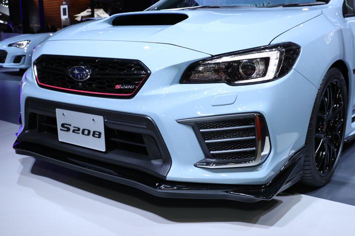 スバル WRX STI特別仕様車 S208