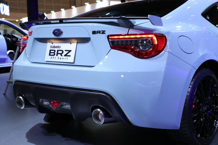 スバル S208/BRZ STI スポーツ|STIバッジの特別な2台が登場【東京モーターショー2017】
