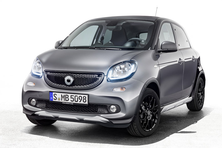 smart forfour turbo crosstown limited