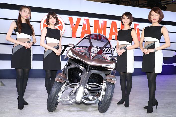 ヤマハブース(東7ホール)/東京モーターショー2017