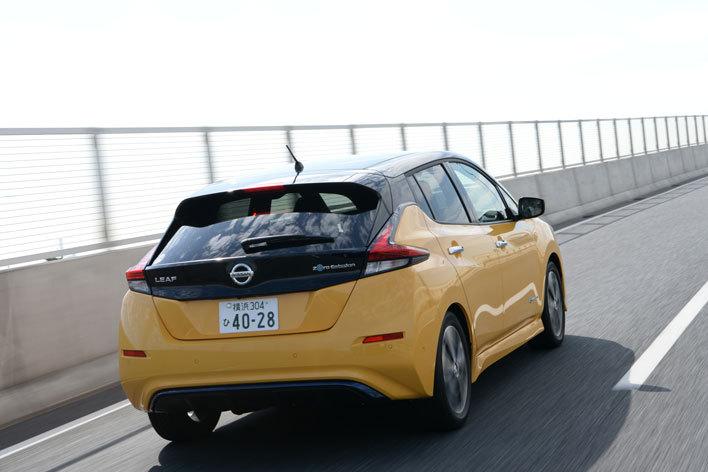 日産 新型EV(電気自動車) リーフ