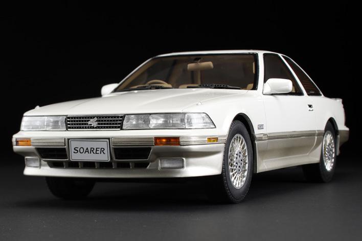 トヨタ ソアラ 3.0GT リミテッド (MZ21) 1990 エアサスペンション仕様(1/18スケール)