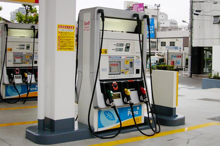ガソリンスタンド関連画像