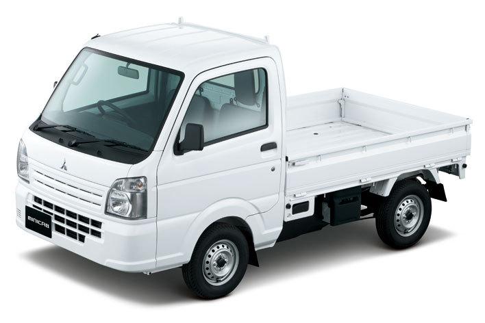 三菱、ミニキャブトラックが一部改良で安全性向上