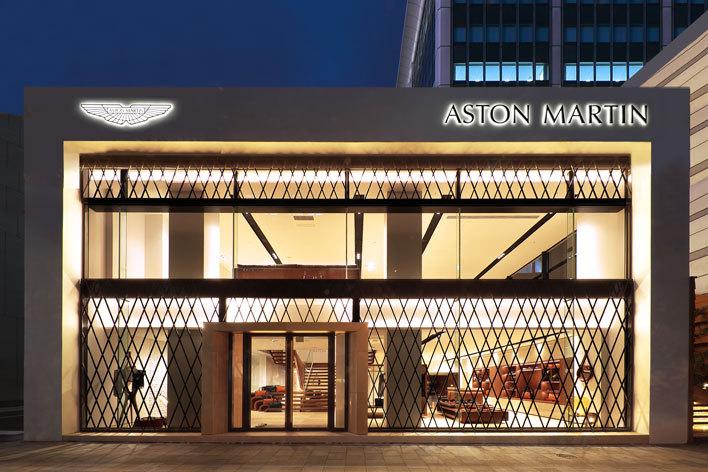 アストンマーティンが東京に開設