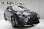 """レクサス RXに3列シート版""""RX450h-L/RX350-L""""登場! 日本には2017年12月に導入予定【LAショー2017】"""