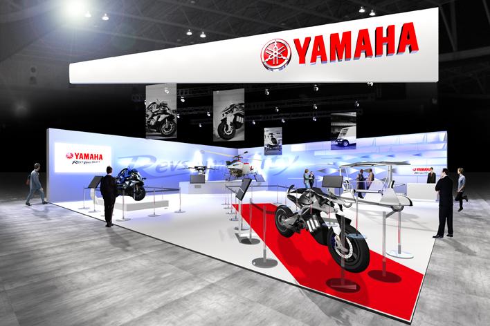 CES ヤマハ展示ブースイメージ