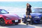 マツダ ロードスターRFとBMW Z4 Mロードスターがおもしろレンタカーに登場!