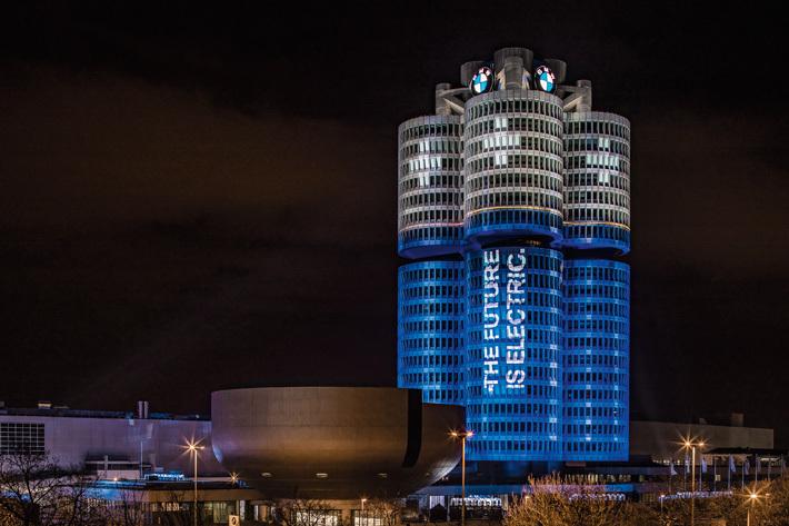 BMWグループ本社ビル「フォー・シリンダー・ビル」