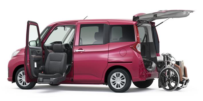 トヨタ ルーミー ウェルキャブ 助手席リフトアップシート車