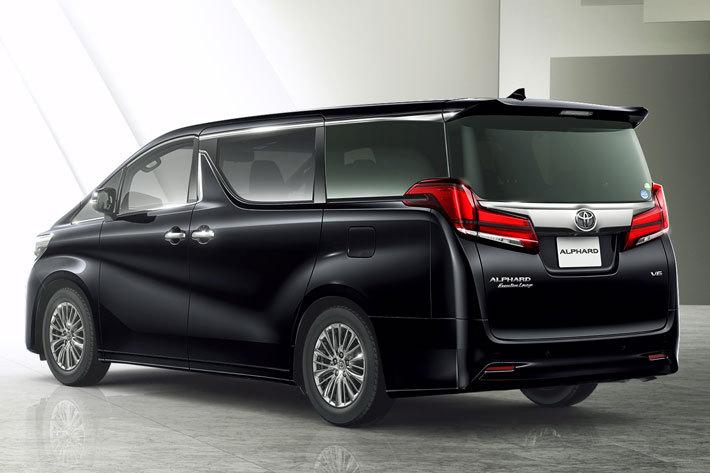 トヨタ 新型アルファード エグゼクティブラウンジ(7人乗り・2WD)ボディカラー:ブラック