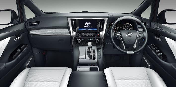 トヨタ 新型ヴェルファイア エグゼクティブラウンジZ(7人乗り・E-Four)内装色:ブラック&ホワイト