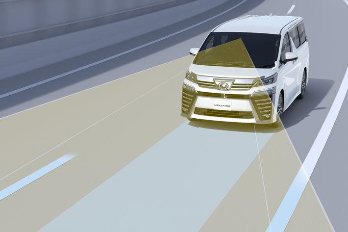 トヨタ 新型ヴェルファイア レーントレーシングアシスト(LTA)