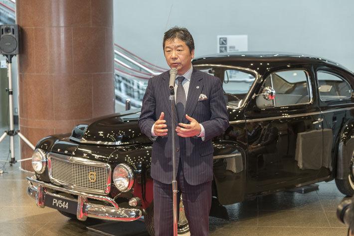 1959年式「ボルボ PV544」、トヨタ博物館(愛知県長久手市)へ寄贈[2017年12月15日]