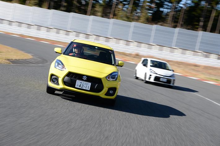 トヨタ ヴィッツGR+スズキ スイフトスポーツ