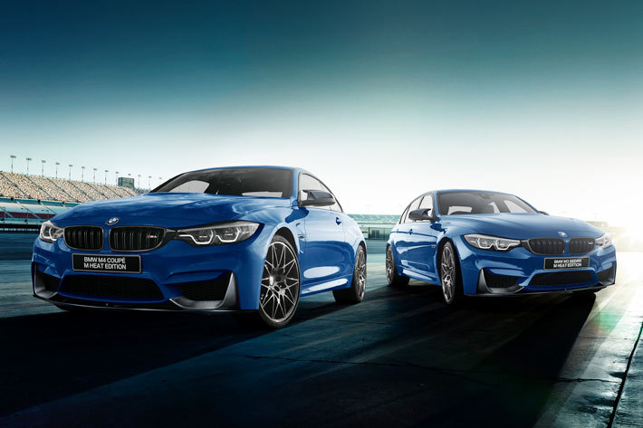 BMW M3セダン/M4クーペM Heat Edition