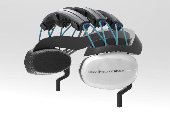 日産の脳波測定による運転支援技術