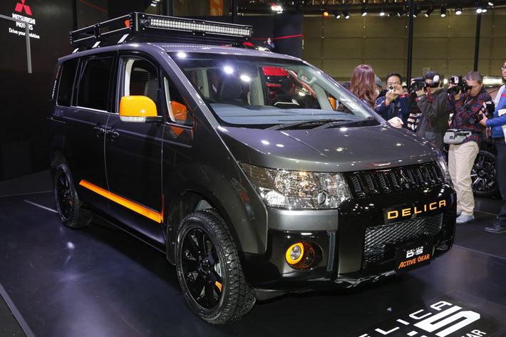 三菱 デリカ D:5 ACTIVE GEAR(オプション装着車)【東京オートサロン2018】