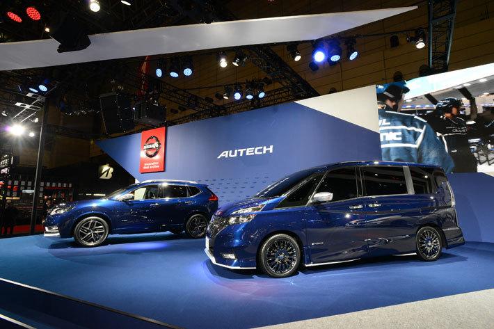 日産 新型エクストレイル「エクストレイル AUTECH Concept」[参考出品車]/日産 新型セレナ「セレナ e-POWER AUTECH Concept」[参考出品車]